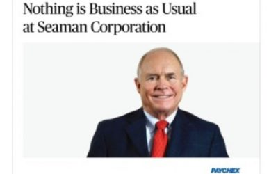 Nothing is Business as Usual at Seaman Corporation
